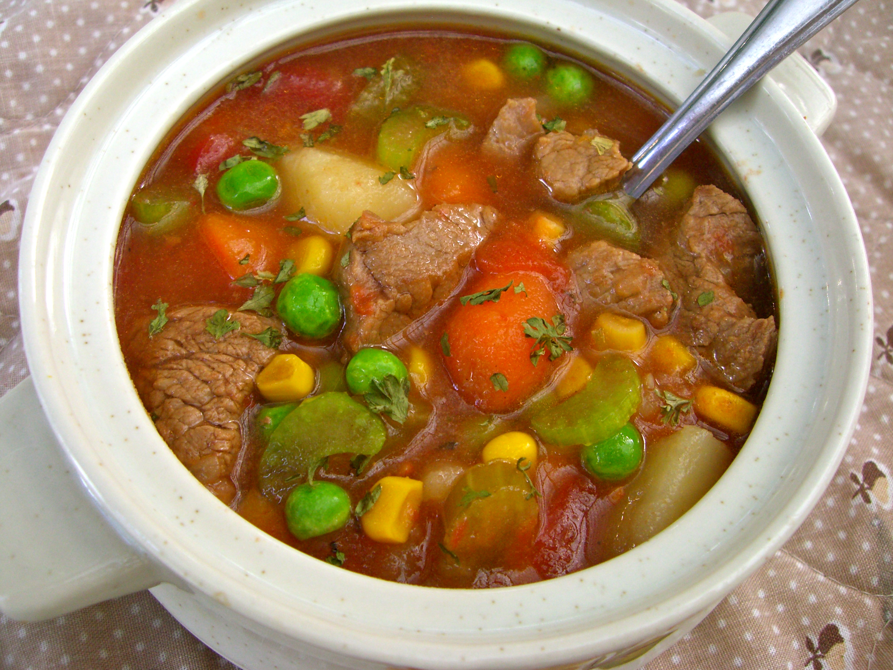 How To Make Old Fashioned Vegetable Beef Soup
